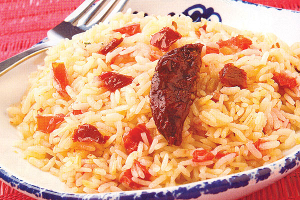 Como hacer el arroz chipotle paso a paso