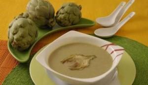 Receta para la Crema de alcachofas