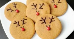 Receta para hacer galletas navideñas