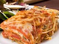 Receta de lasagna vegetariana