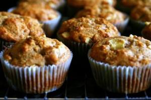 Muffins de Manzana Receta