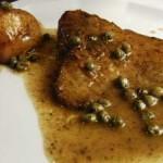 Receta de raya con salsa de mantequilla oscura y alcaparras