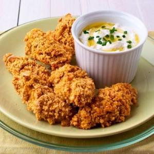 Receta Nuggets de pollo crujientes