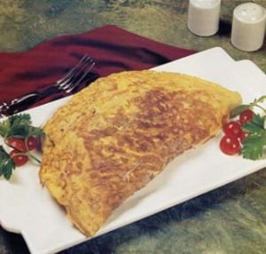 Receta de omelette de pollo