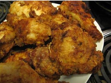 Receta original del Pollo Kentucky Crujiente (KFC)