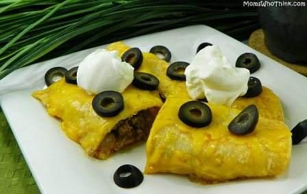 Como hacer enchiladas mexicanas de queso y carne