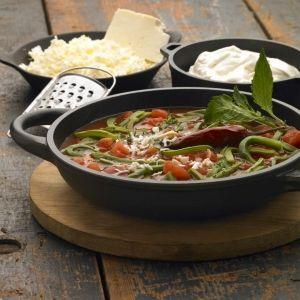 Receta para preparar sopa de nopales
