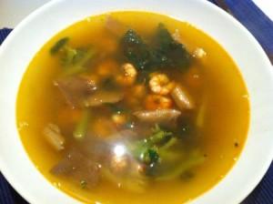 Como hacer una sopa tailandesa