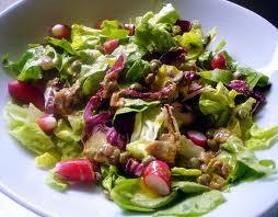 Como preparar una ensalada primaveral a la mostaza