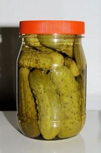 Como hacer pepinillos en vinagre